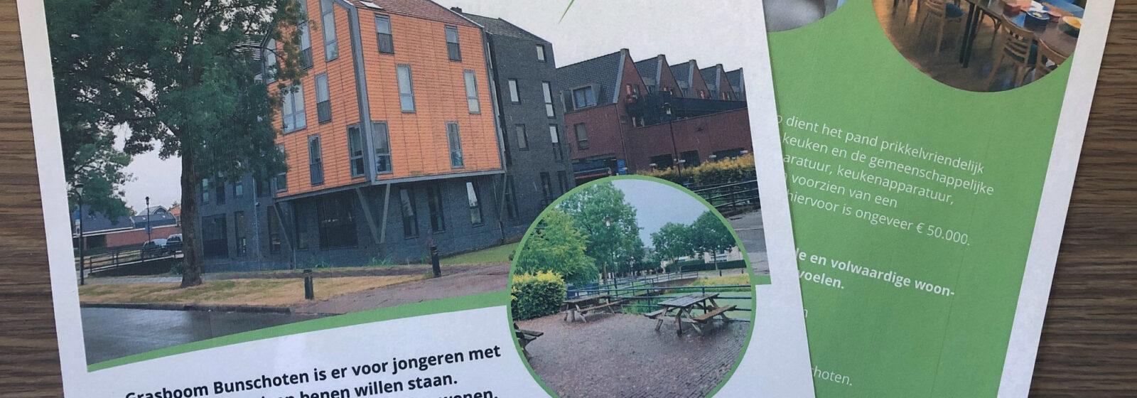 Grasboom Bunschoten presenteert brochure
